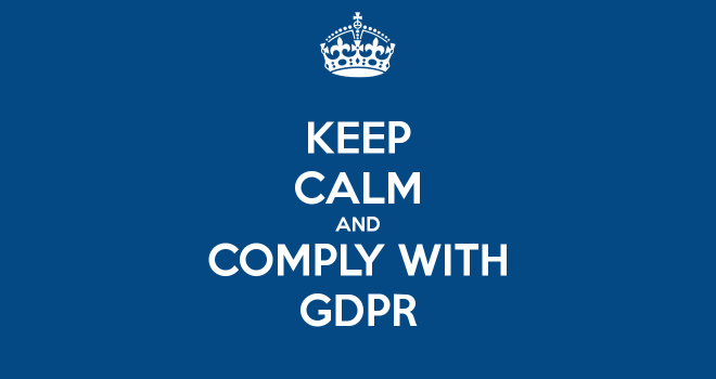 GDPR – our Privacy Policies